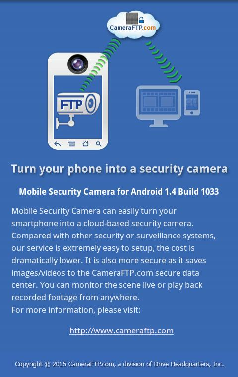 Mobile Security Camera (FTP) for Android - APK Download