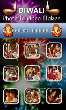 Diwali Photo Video Maker screenshot 1