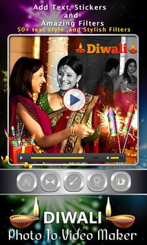 Diwali Photo Video Maker screenshot 2