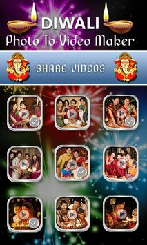 Diwali Photo Video Maker screenshot 4
