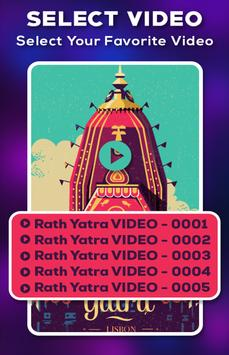 Rath Yatra Video Maker With Music poster
