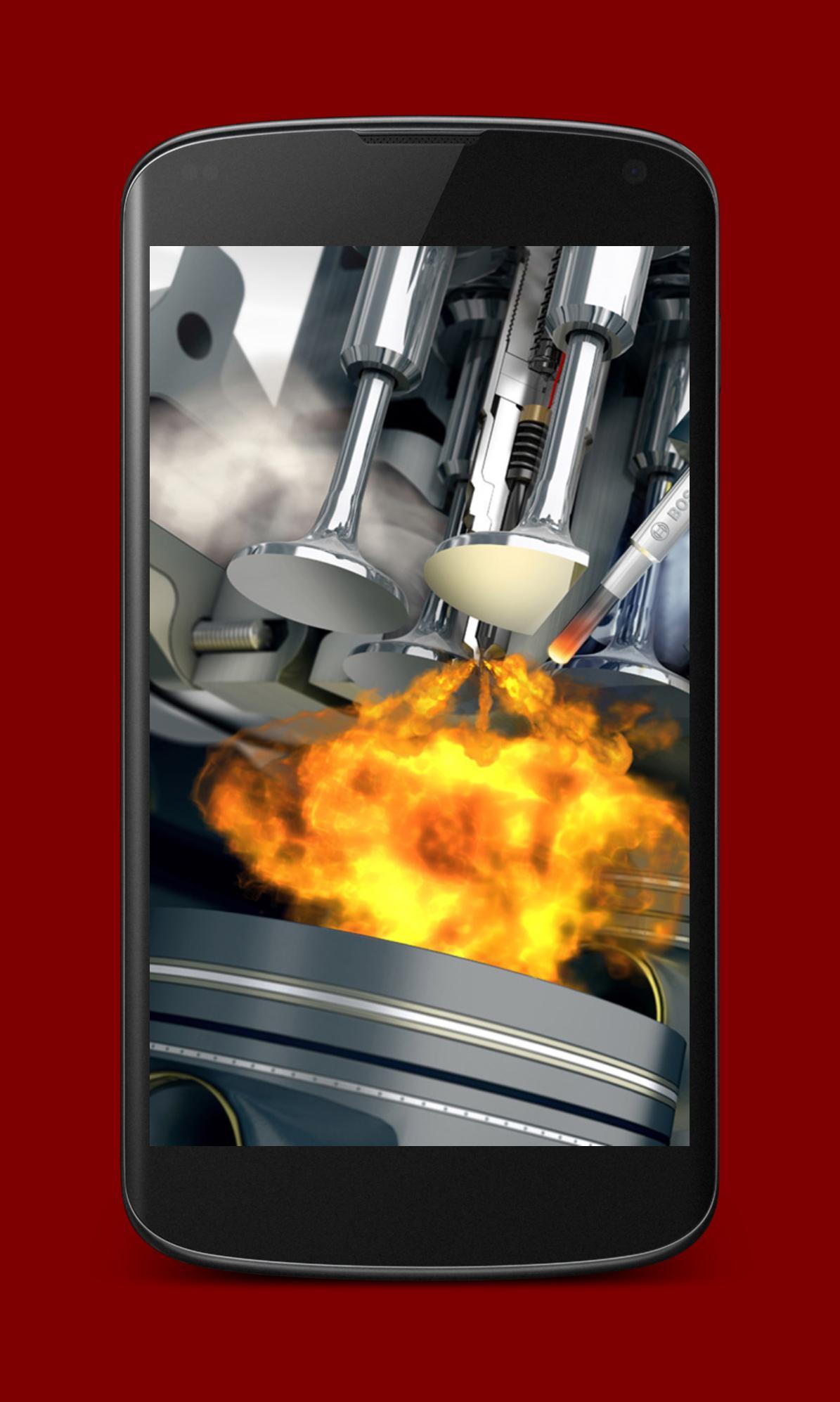Android 用の Diesel Engine Live Wallpaper Apk をダウンロード