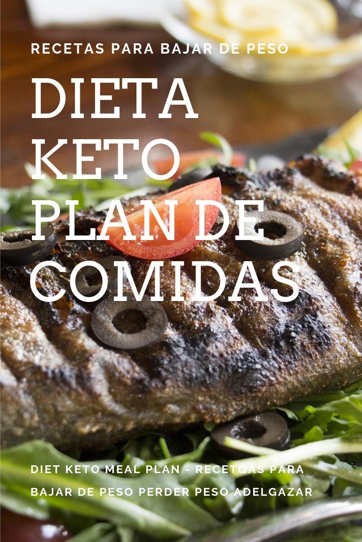 preparación de comida de dieta keto