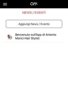 Antonio Morici Hair Stylist Impresa Smart screenshot 1