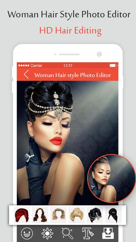 Woman Hair Style Photo Editor For Android Apk Download