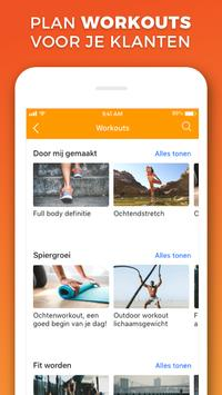 Virtuagym Coach - voor Personal Trainers screenshot 3
