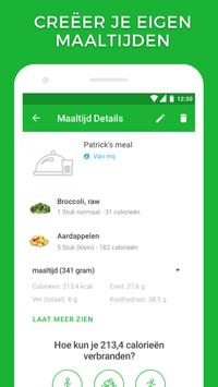 Calorieënteller en track jouw voeding screenshot 2