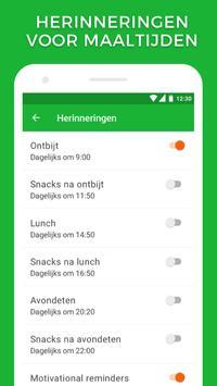 Calorieënteller en track jouw voeding screenshot 5