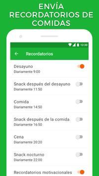 Contador de calorías captura de pantalla 5