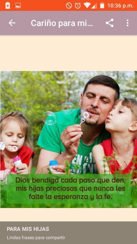 Reflexiones Y Frases De Cariño Para Padres E Hijos Für