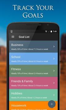 1 Schermata Simply Goals & Tasks To-Do List
