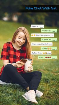Fake Chat with Bhabhi : Fake Audio/Video Call poster