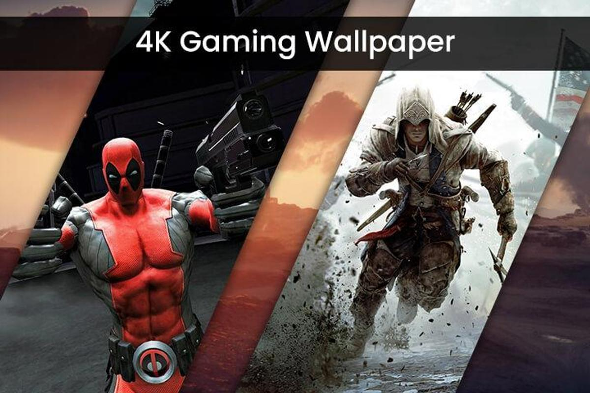 4k Gamers Hd Wallpaper For Android Apk Download