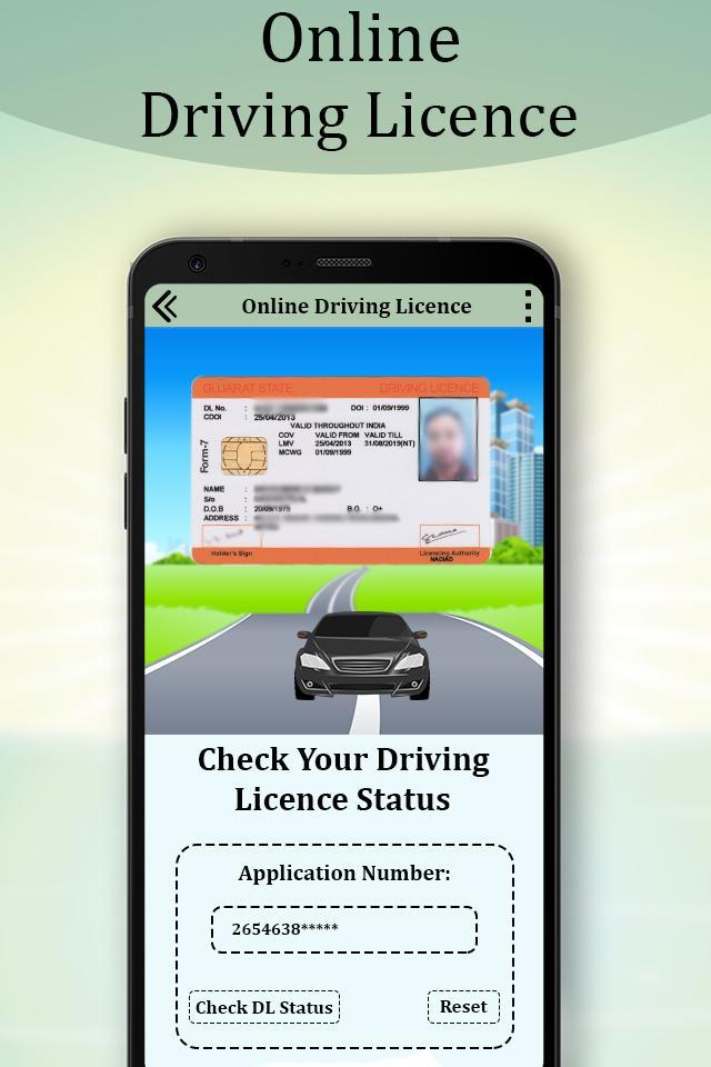 Online Indian Driving License Apply : RTO Detail for Android - APK Download