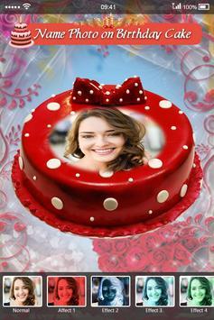 Name Photo on Birthday Cake screenshot 3