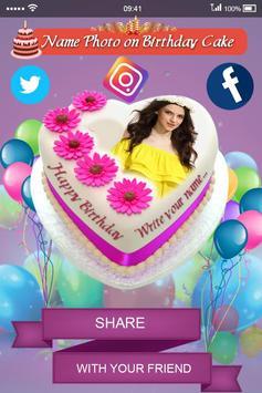 Name Photo on Birthday Cake screenshot 5