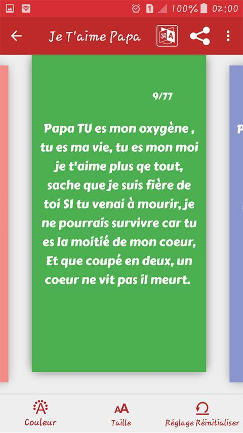 Je Taime Papa Sms 2020 For Android Apk Download
