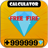 Diamond💎Calculator for Free Fire Free biểu tượng