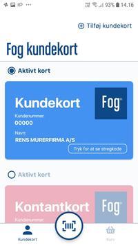 Fog Kundeapp poster