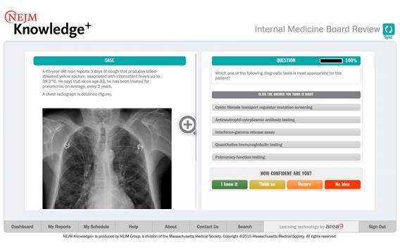 NEJM Knowledge+ IM Review imagem de tela 11
