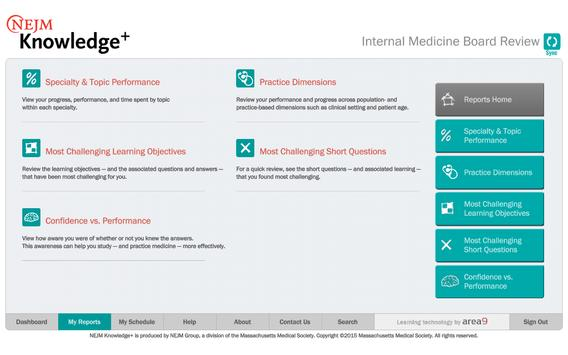 NEJM Knowledge+ IM Review imagem de tela 13