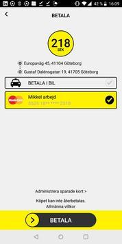 Taxi Göteborg screenshot 3