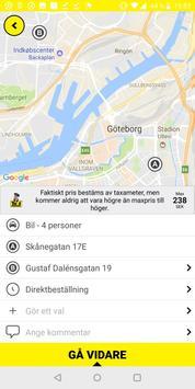 Taxi Göteborg screenshot 2