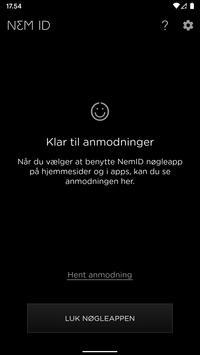 NemID captura de pantalla 1