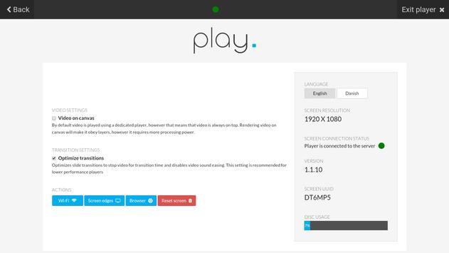 Play Digital Signage screenshot 1