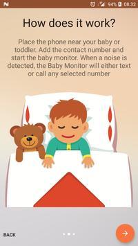Baby Monitor capture d'écran 1