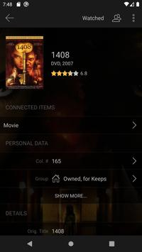 My Movies 3 Pro - Movie & TV Collection Library imagem de tela 2