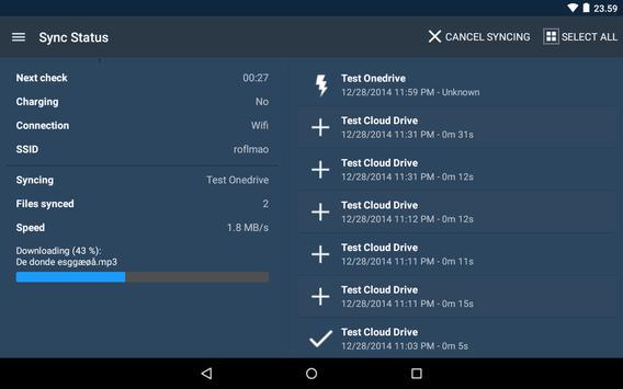 FolderSync screenshot 21