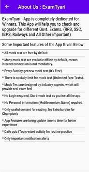 ExamTyari : Free Mock Test (Model Papers, Quiz) screenshot 4