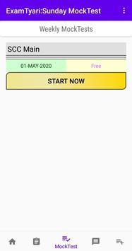 ExamTyari : Free Mock Test (Model Papers, Quiz) screenshot 2