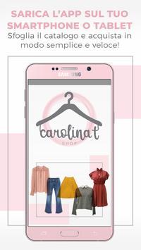 Carolina T Shop poster