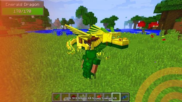 Dragon mod for minecraft pe screenshot 2