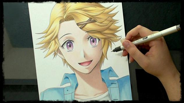 Learn to draw anime with videos screenshot 1