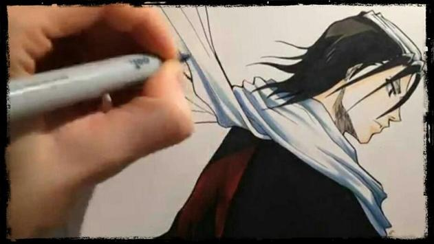 Learn to draw anime with videos screenshot 5