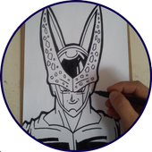 How to draw Dragon Ball characters icon