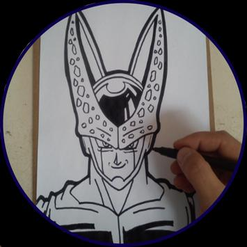 How to draw Dragon Ball characters poster