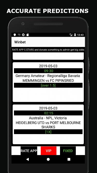 Correct score predictions & draw predictions for Android - APK Download