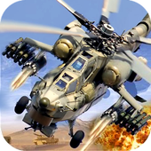 Helicopter Gunship Strike icon
