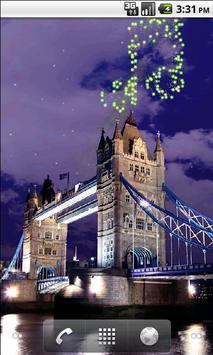 Tower Bridge Fireworks Wallpaper HD screenshot 3