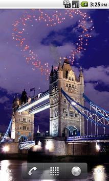 Tower Bridge Fireworks Wallpaper HD screenshot 4