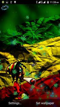 Weed Rasta Smoke Wallpapers & Backgrounds スクリーンショット 1