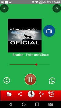 RADIO ALCATEIA poster