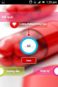 Glucose Meter kiểm soát đường huyết ảnh chụp màn hình 1