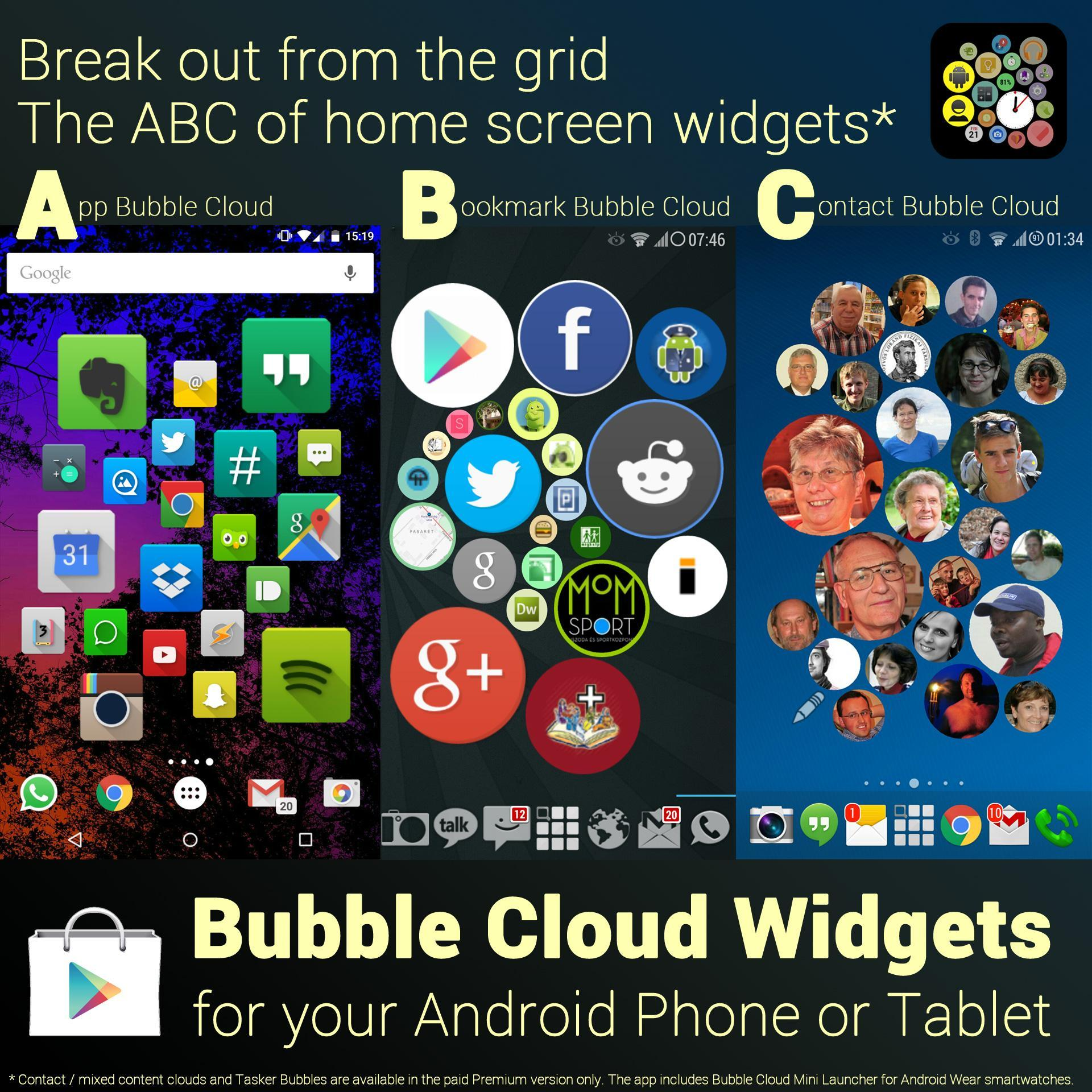 Bubble Cloud Widgets for Android - APK Download