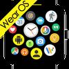 Bubble Cloud Tile Launcher Watchface (WearOS)-icoon
