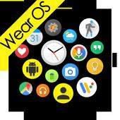 Bubble Cloud Tile Launcher Watchface (WearOS) icon